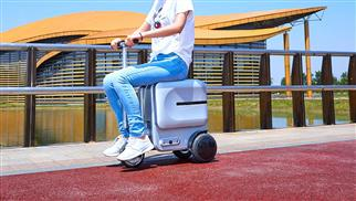 爱尔威Airwheel-SE3-旅行箱